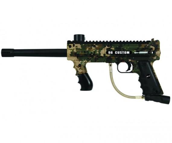 Tippmann 98 Custom Platinum ACT Paintball Gun Camo