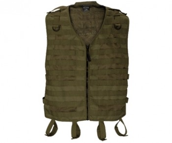 BT Merc Paintball Vest - Olive Drab