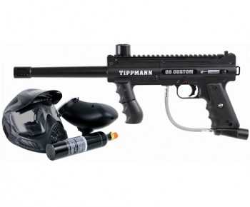 Tippmann 98 Custom Platinum ACT Paintball Gun Power Package