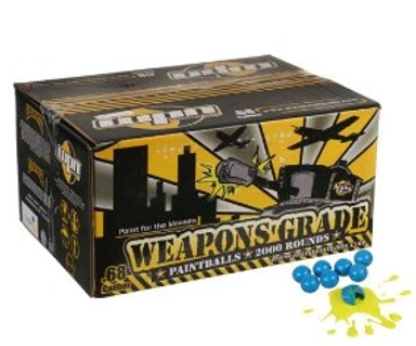 WPN Weapons Grade Paintballs - 2000 Rounds