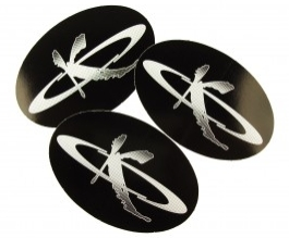 Kila Oval Stickers