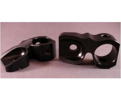 CCM Back Block - Black Aluminum Series 6