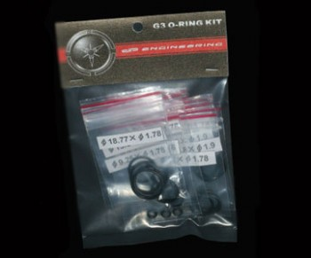 DP Dangerous Power O-ring Rebuild Kit G3, Spec R, G4