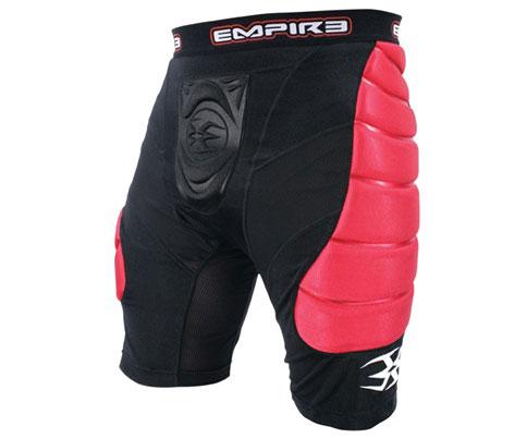 Empire Grind Slider Shorts - Black/Red 09