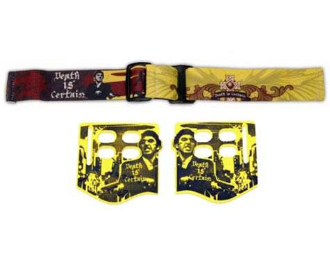 Trinity Death is Certain (DIC) JT Goggle Strap w SoftEar Piece Kit