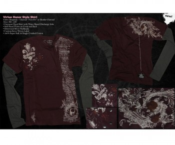 Virtue Honor Style Two-Fer Shirt 09