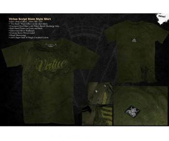 Virtue Script Style T-Shirt 09