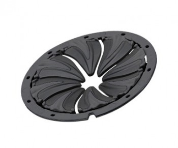 Dye Rotor Speed Feed Lid