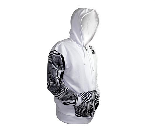 Eclipse Maze Hooded Sweatshirt 09