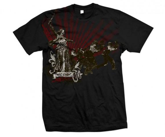 Virtue 2010 Russian Legion Swords T-Shirt Black