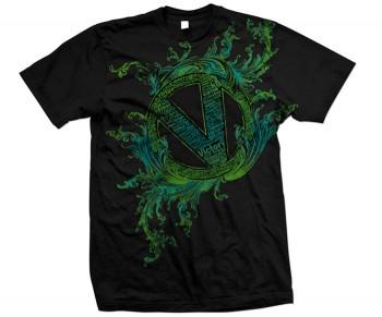 Virtue Just Words T-Shirt Black