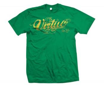 Virtue Metallic Script T-Shirt