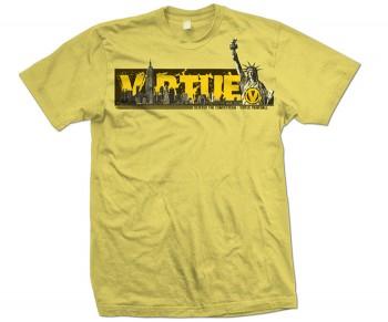 Virtue New York T-Shirt Gold