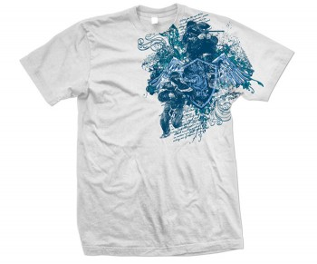 Virtue Ollie Shield T-Shirt White