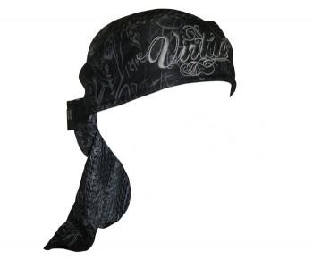 Virtue Paintball Script Headwrap Black