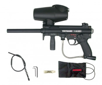 Tippmann A-5 E-Grip Paintball Gun w Selector Switch