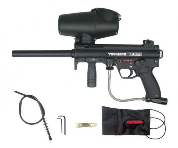 Tippmann A-5 E-Grip Paintball Gun w Selector Switch