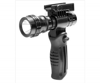 Trinity Weaver Foldable Foregrip and Flashlight Kit